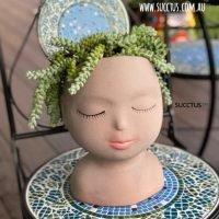 Face/Head Planters